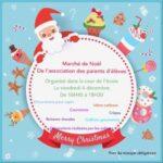 Marché de Noël des parents d'élèves